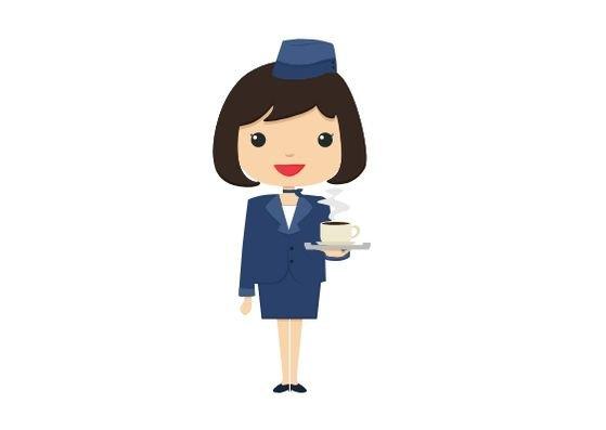 airhostess-flugbegleiterin-flashcards-allaboutdeutsch