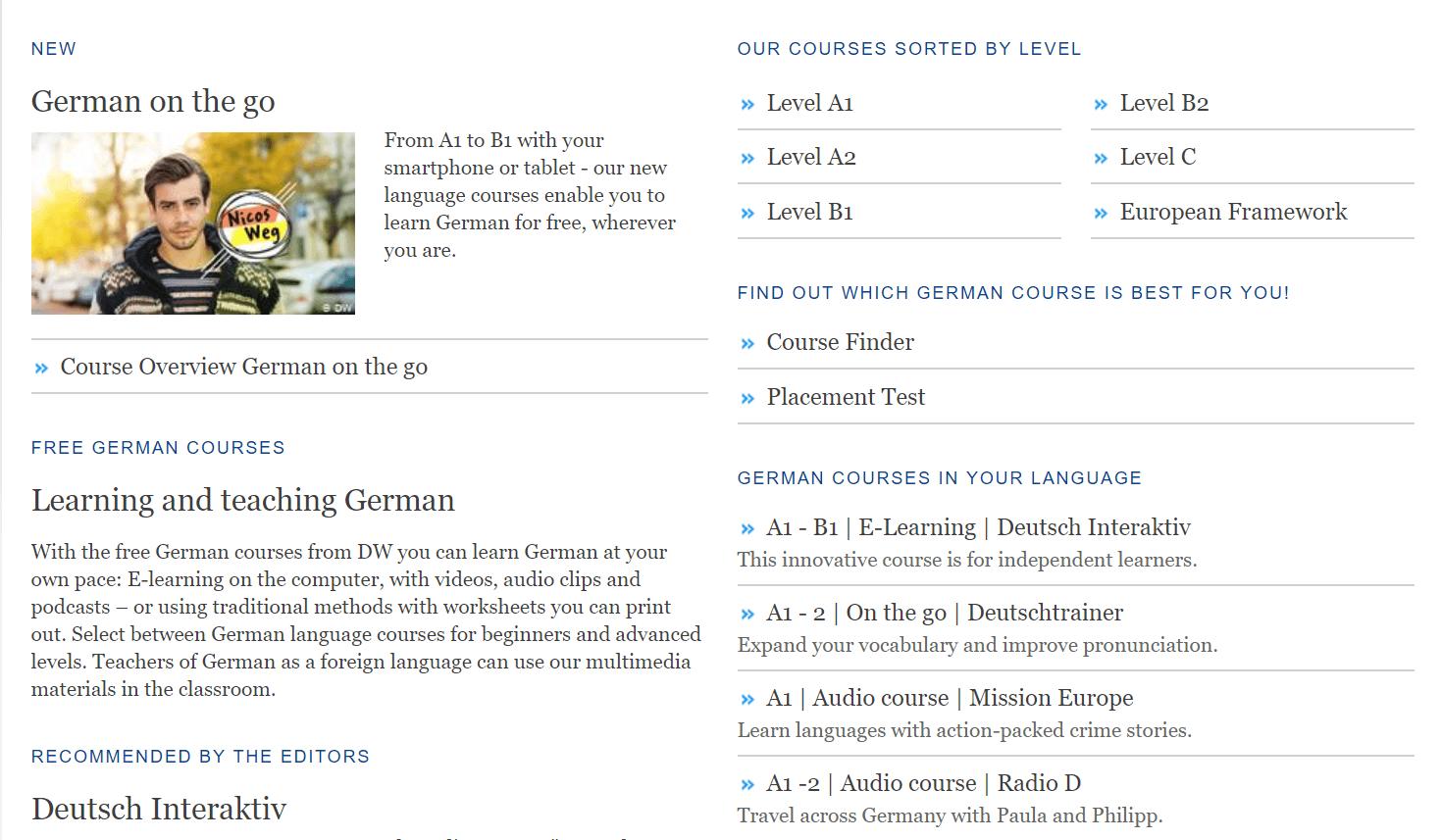 learn german- DW - deutsche welle