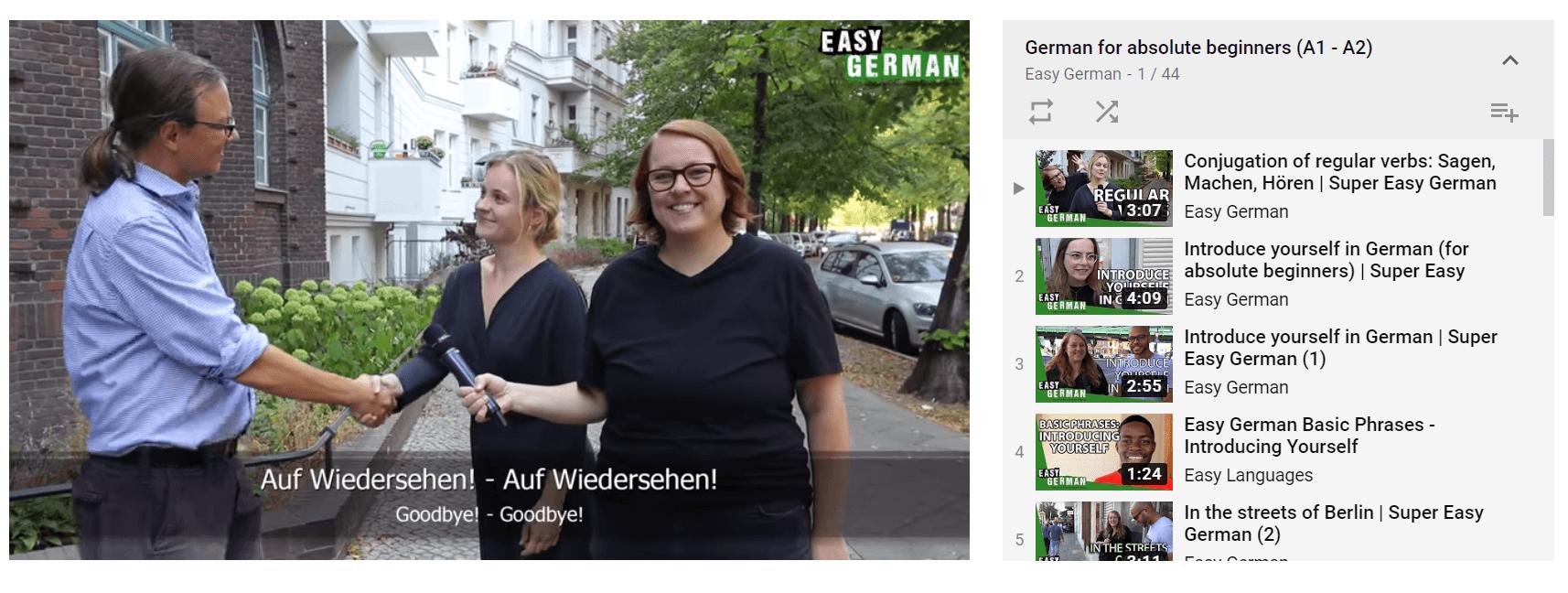 learn german - Easy German