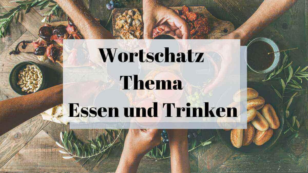 Essen und Trinken – 27 Best Flashcards for Food and Drinks
