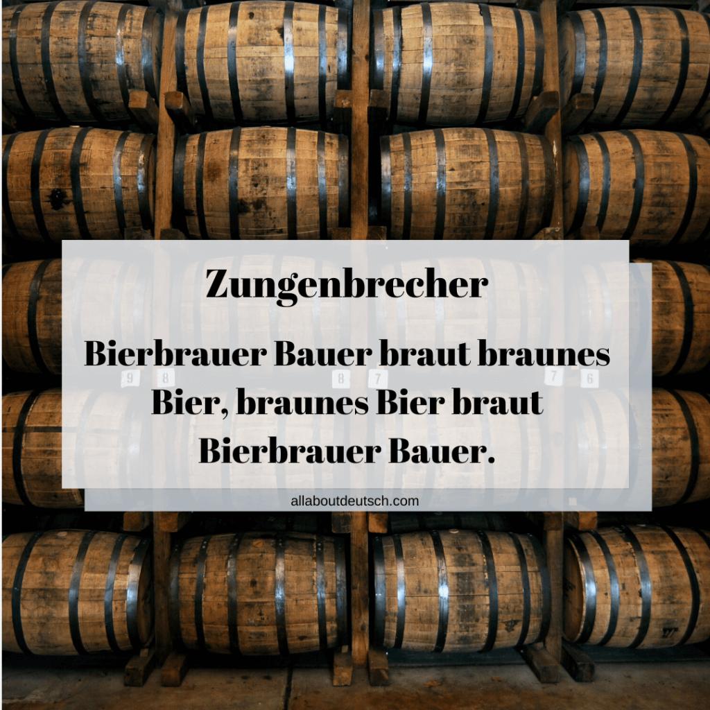 Bierbauer-Zungenbrecher