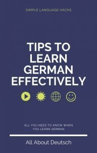 Free Ebook #1 - Tips to Learn German Effectively