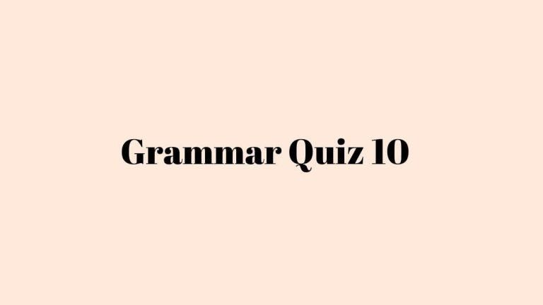 Past Tense in German Quiz