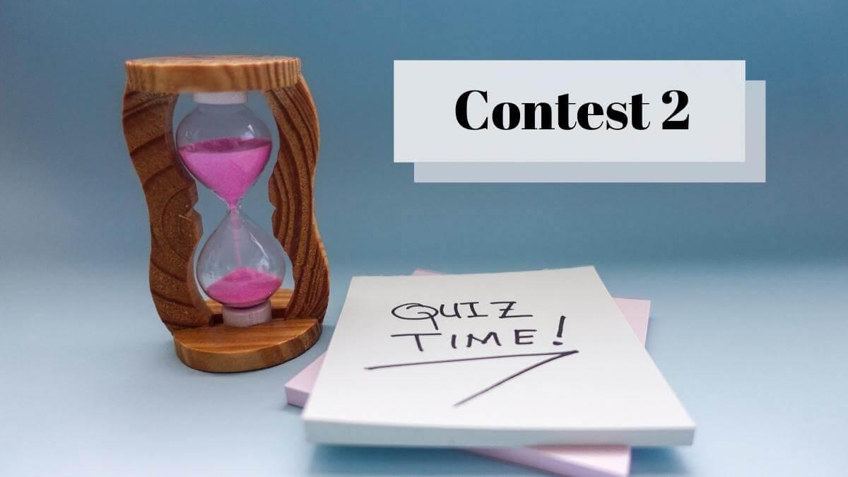 German Quiz Contest for Beginners #2