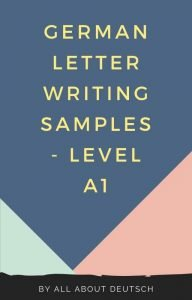 A1 German Letter Writing Samples - Free PDF
