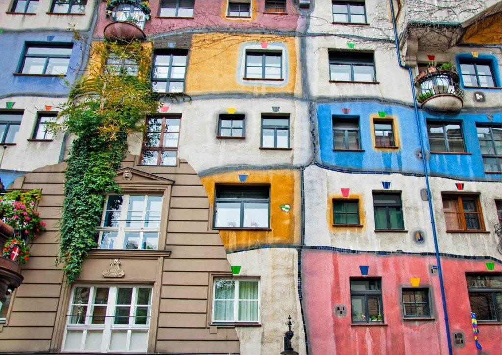 Hundertwasser Haus - Vienna - Austria - All About Deutsch