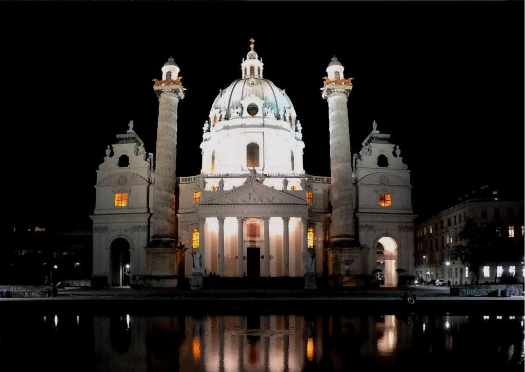St Charles Church - Vienna - Austria - All About Deutsch